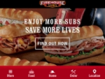 FREE Small Sub For Joining Firehouse Subs Reward Program