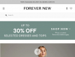 Up To 75% OFF Sale Items + FREE Shipping At Forever New Australia