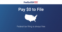 100% FREE Federal Tax Return At FreeTaxUSA