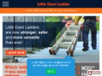 Ladders From $68 At Little Giant Ladder