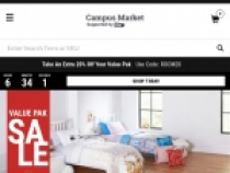 Up To 60% OFF Bedding Value Packs + FREE Shipping At Our Campus Market