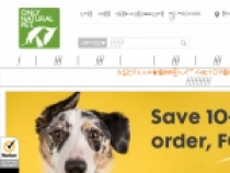 15% OFF + FREE Shipping With Email Sign Up At Only Natural Pet