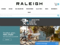 FREE Shipping On $349+ Bike Orders At Raleigh