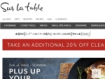 Up To 40% OFF Cookware At Sur La Table