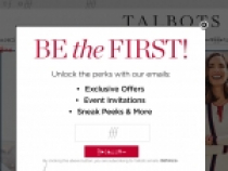 Up To 50% OFF ALL Markdown At Talbots