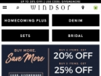 Up To 75% OFF Sale Items At Windsor