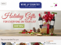 Up To 60% OFF Discounted Gifts At Wine Country Gift Baskets