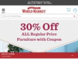 World Market Coupons